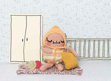 Kit crochet amigurumi - Bébé