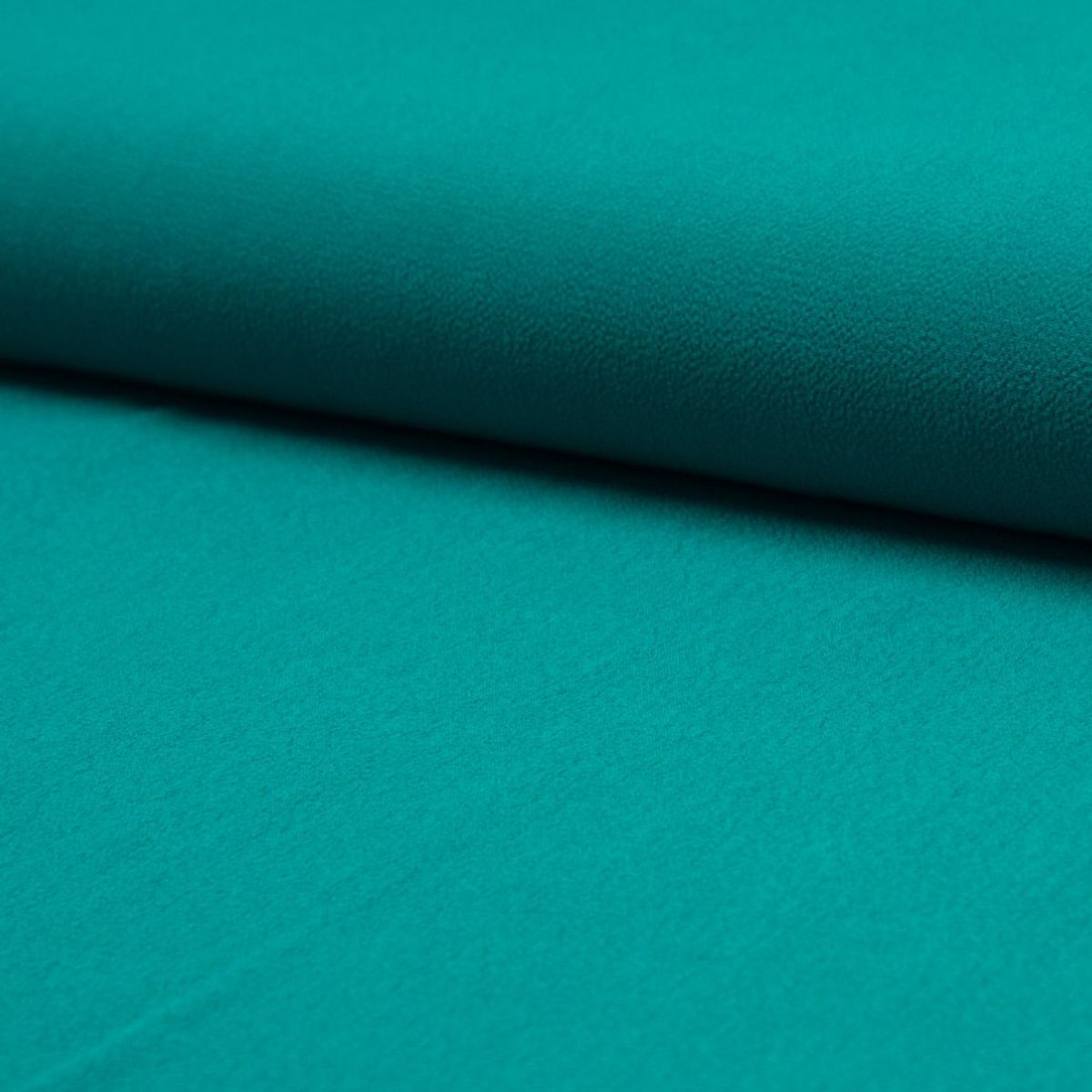Tissu crêpe de viscose - Turquoise