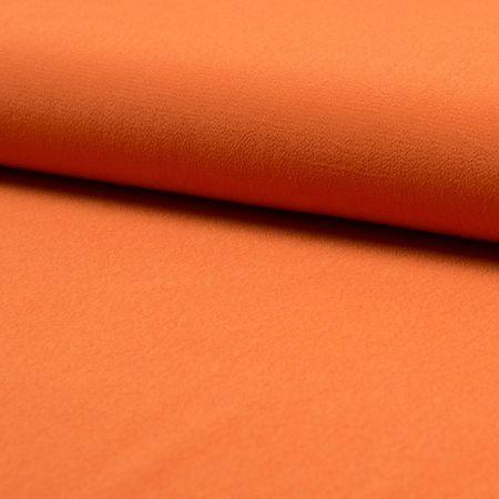 Tissu crêpe de viscose - Orange