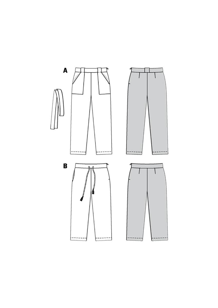 Patron de pantalon - Burda 6218