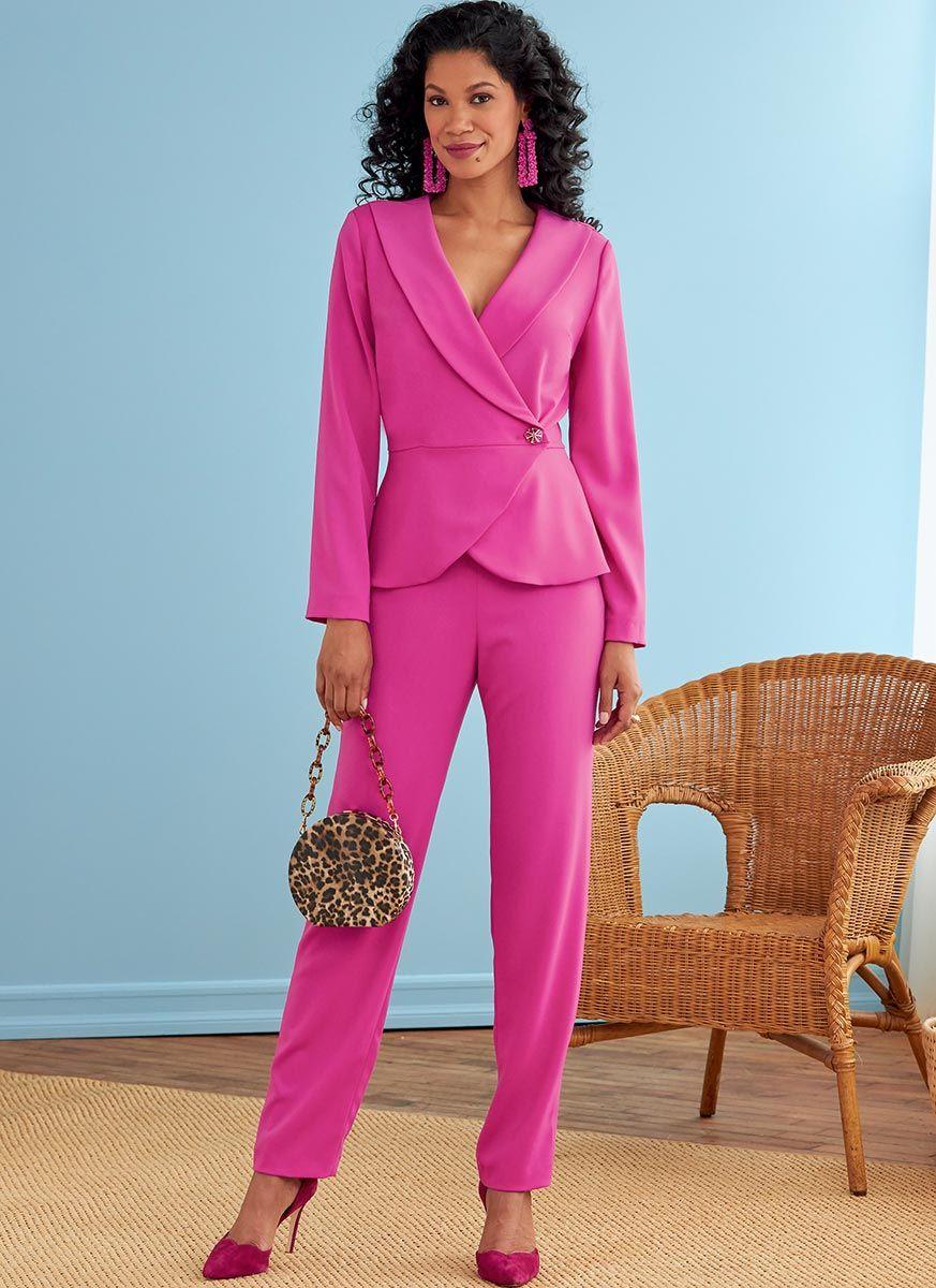 Patron de veste, jupe et pantalon - Butterick 6739