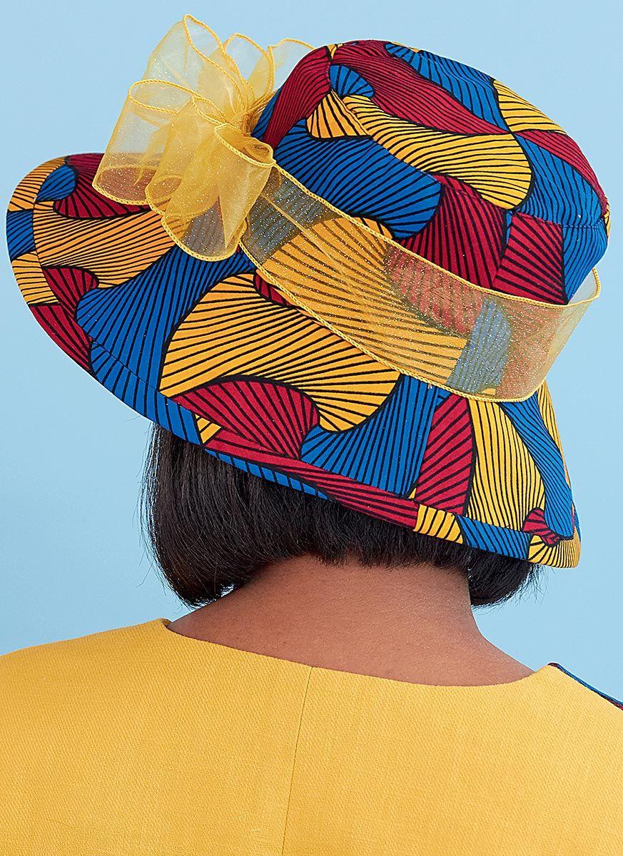 Patron de chapeaux - Butterick 6741 A