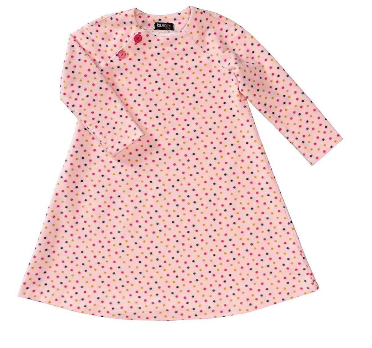 Patron de robe - Burda 9291