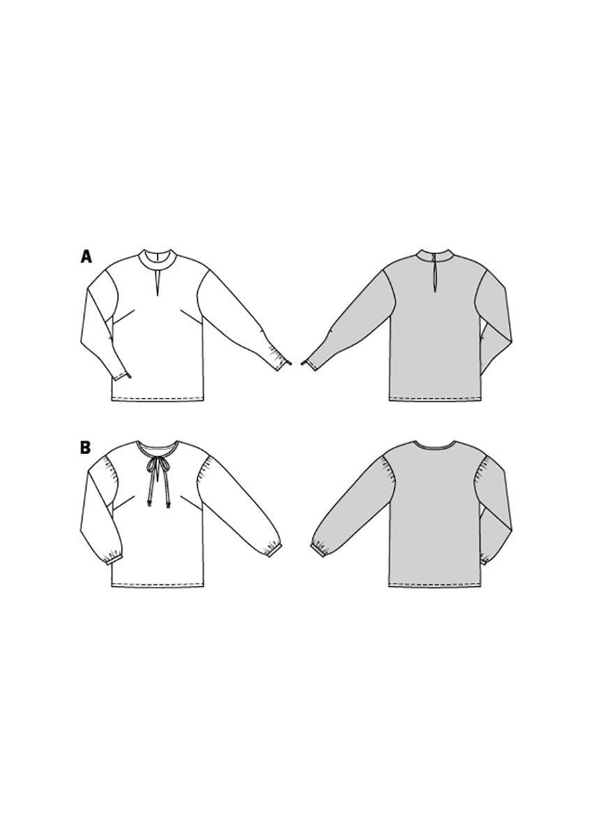 Patron de blouse - Burda 6179