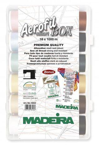 Boite de fils à coudre Aerofil Smart Box Madeira