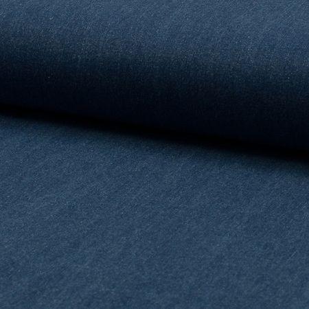 Tissu jeans stretch Denim - Bleu