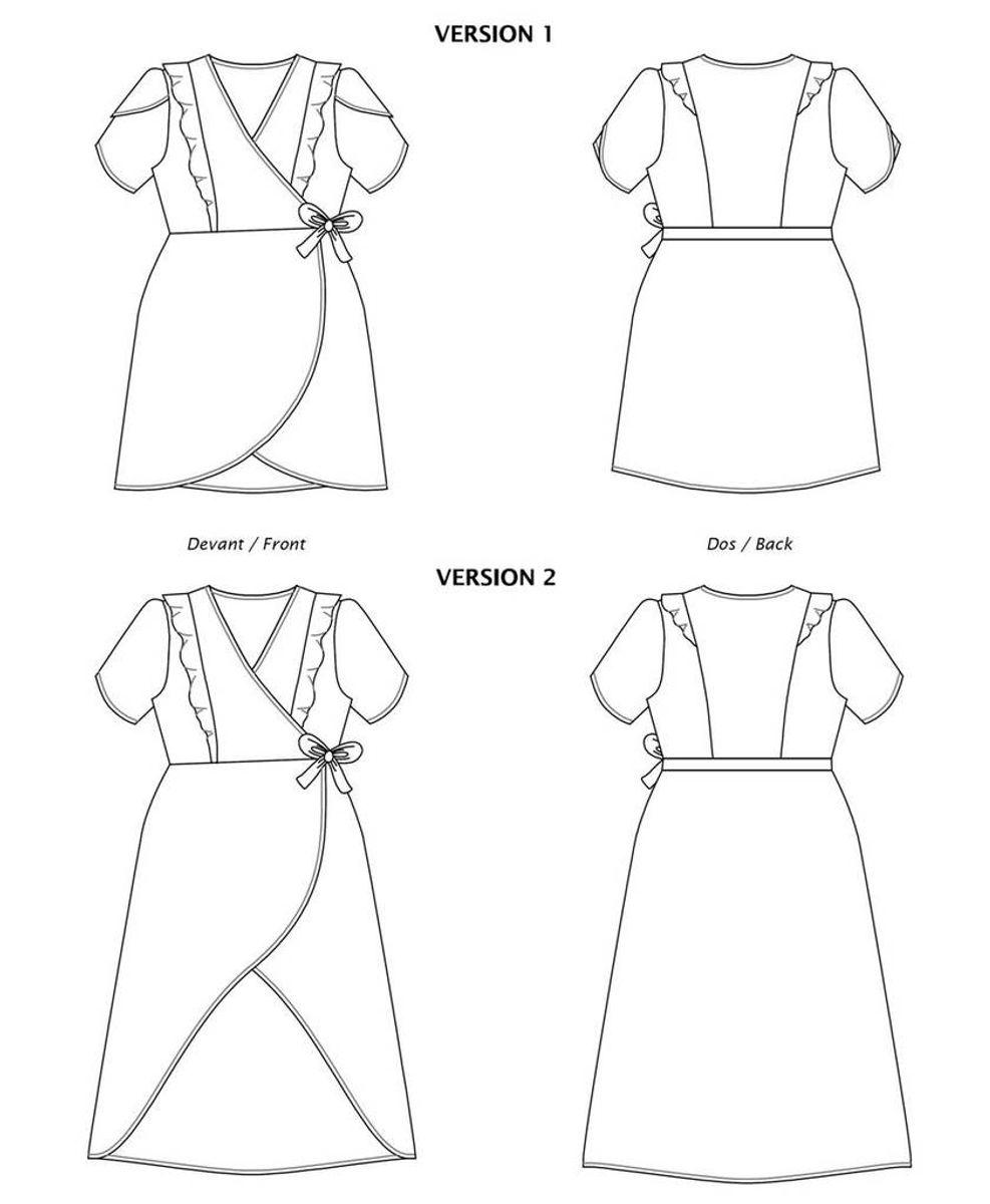Patron de robe Fleurette - Les Lubies de Cadia