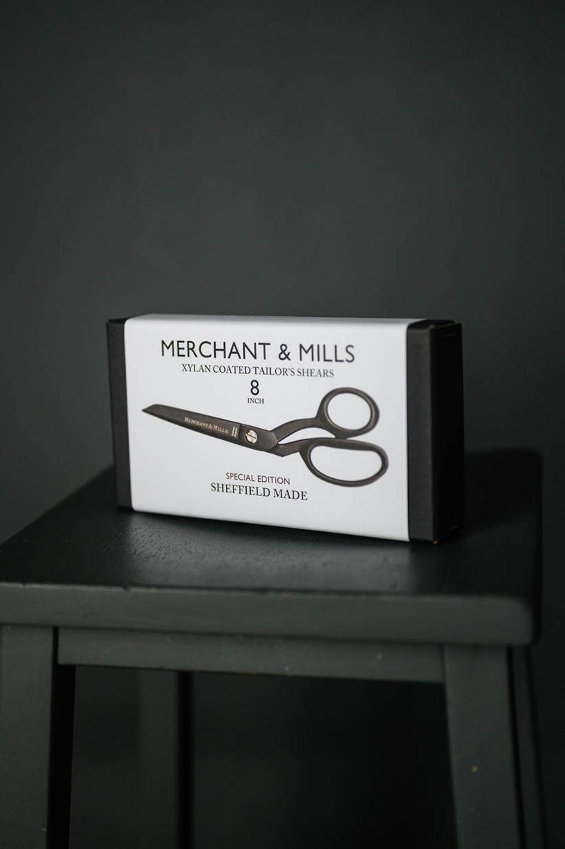 Ciseaux tailleurs Black Xylan Merchant & Mills 20,5 cm