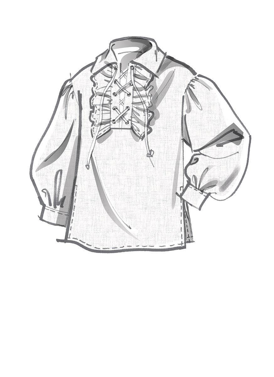 Patron de chemise - McCall's 8131