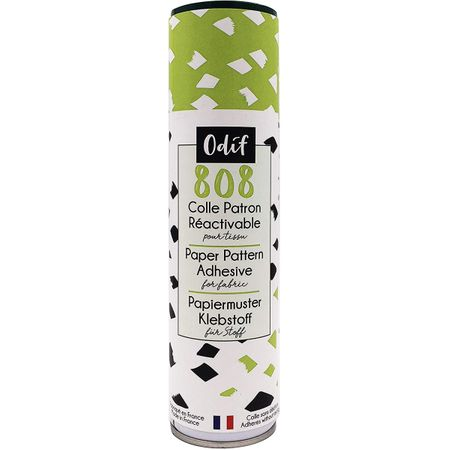 Spray colle réactivable pour patron Odif 808