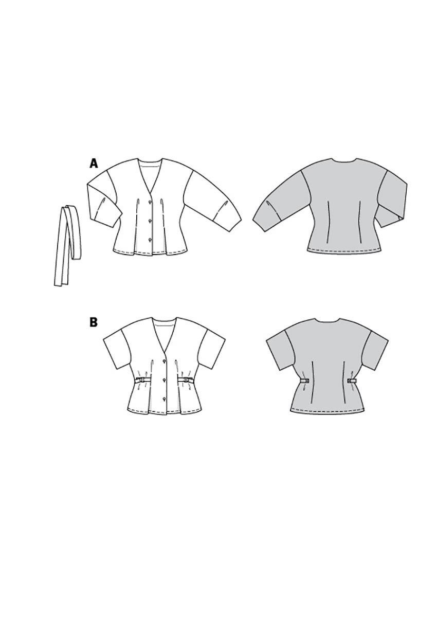 Patron de blouse - Burda 6135
