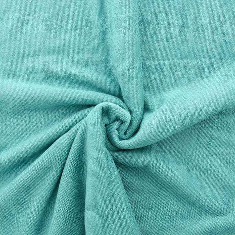 Tissu micro éponge de bambou - Lagon