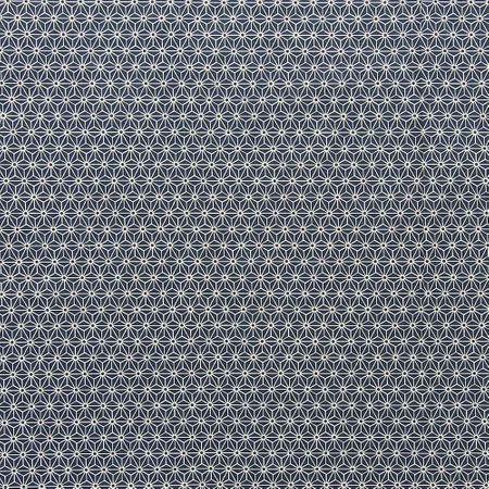 Tissu coton sashiko Sevenberry - Petites étoiles fond noir