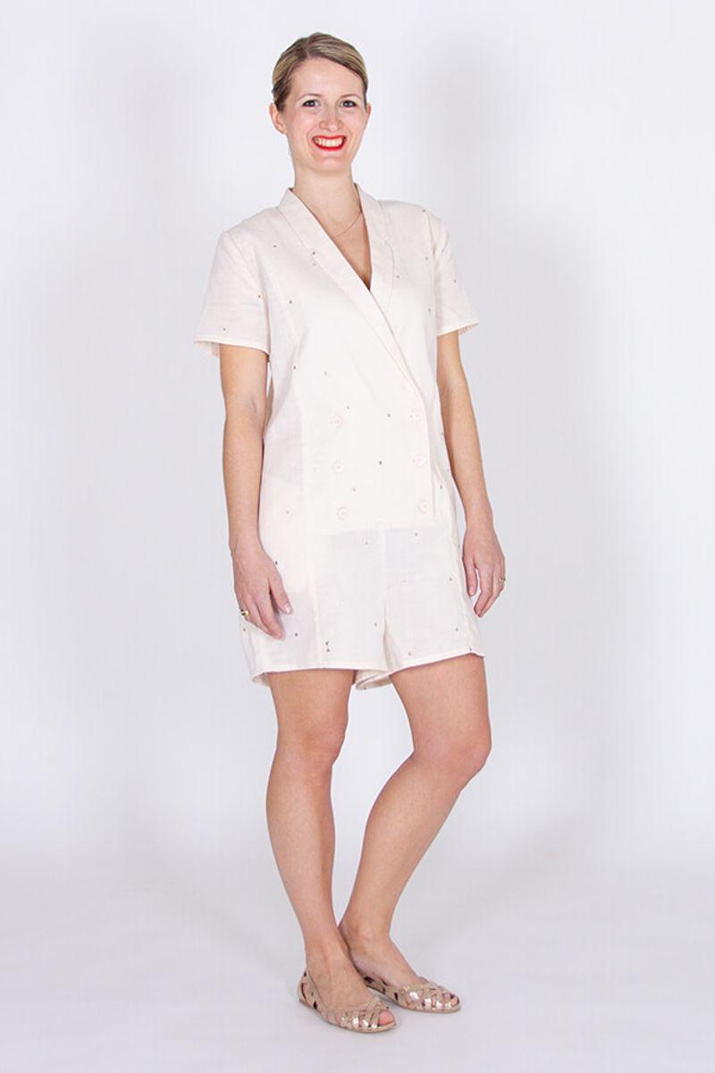 Patron de combinaison short, robe Diana - I am patterns