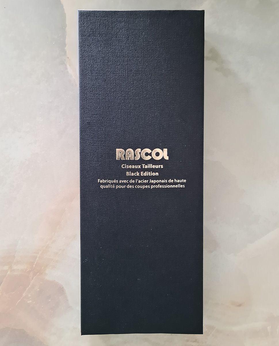 Ciseaux de couture tailleur prestige Black Edition Rascol 24 cm