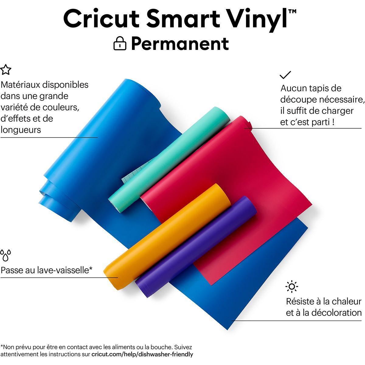 Film vinyle permanent 33 cm x 91 cm Cricut