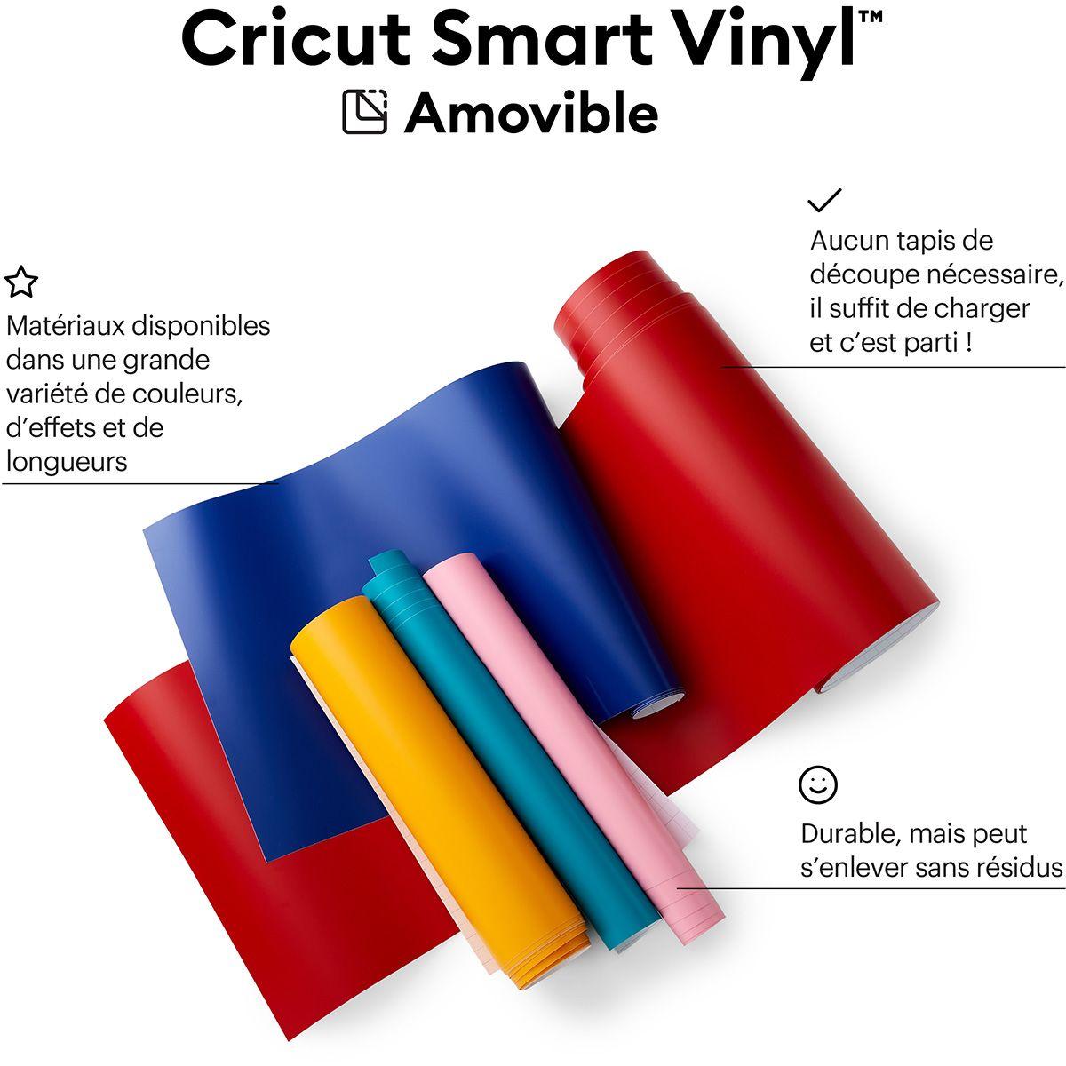 Film vinyle repositionnable 33 cm x 366 cm Cricut