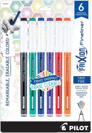 Set de 6 stylos Pilot FriXion Ball Fineliner