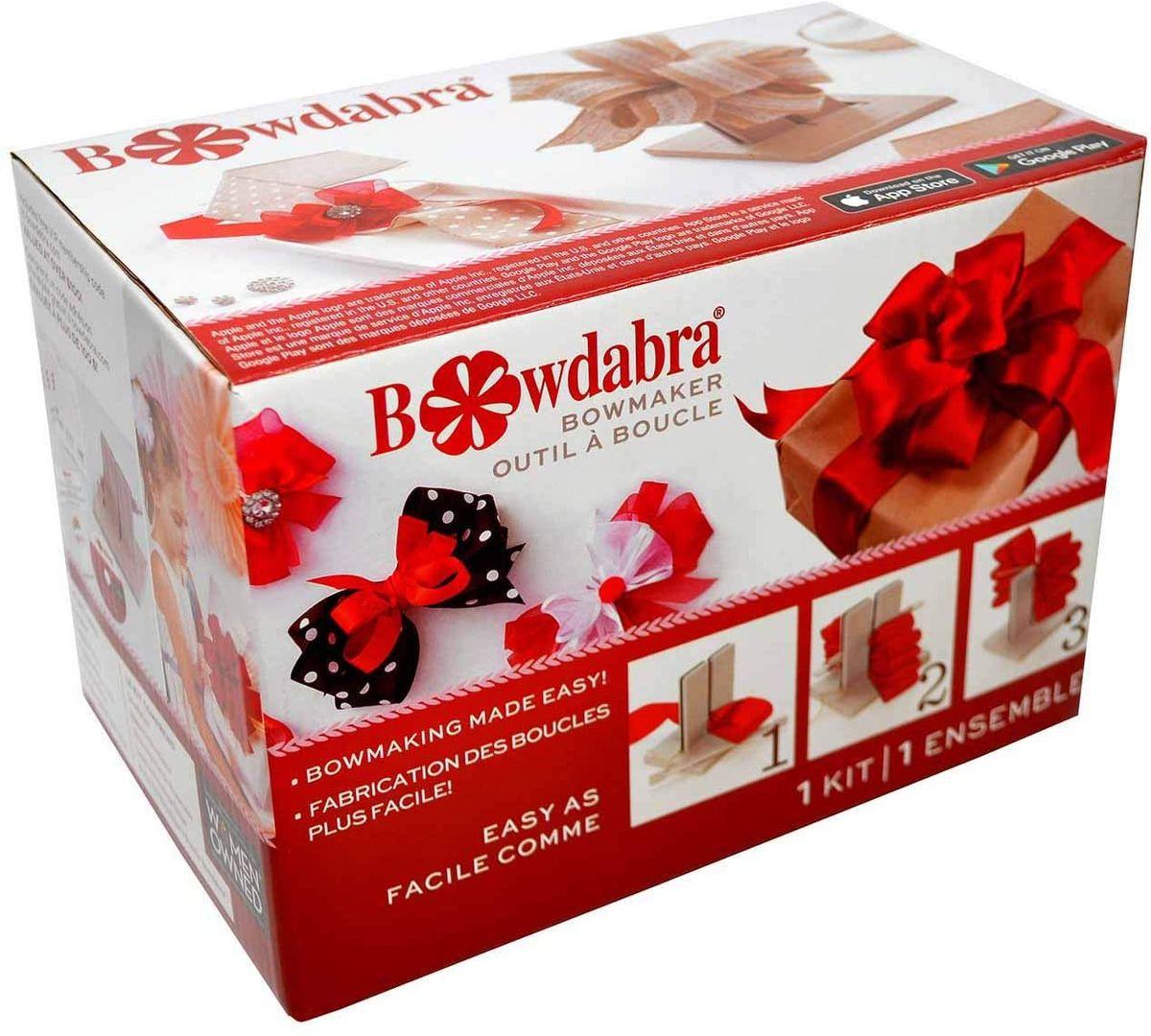 Outil pour confection de noeuds Bowdabra