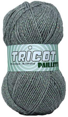 Sachet de 4 pelotes de laine Paillette