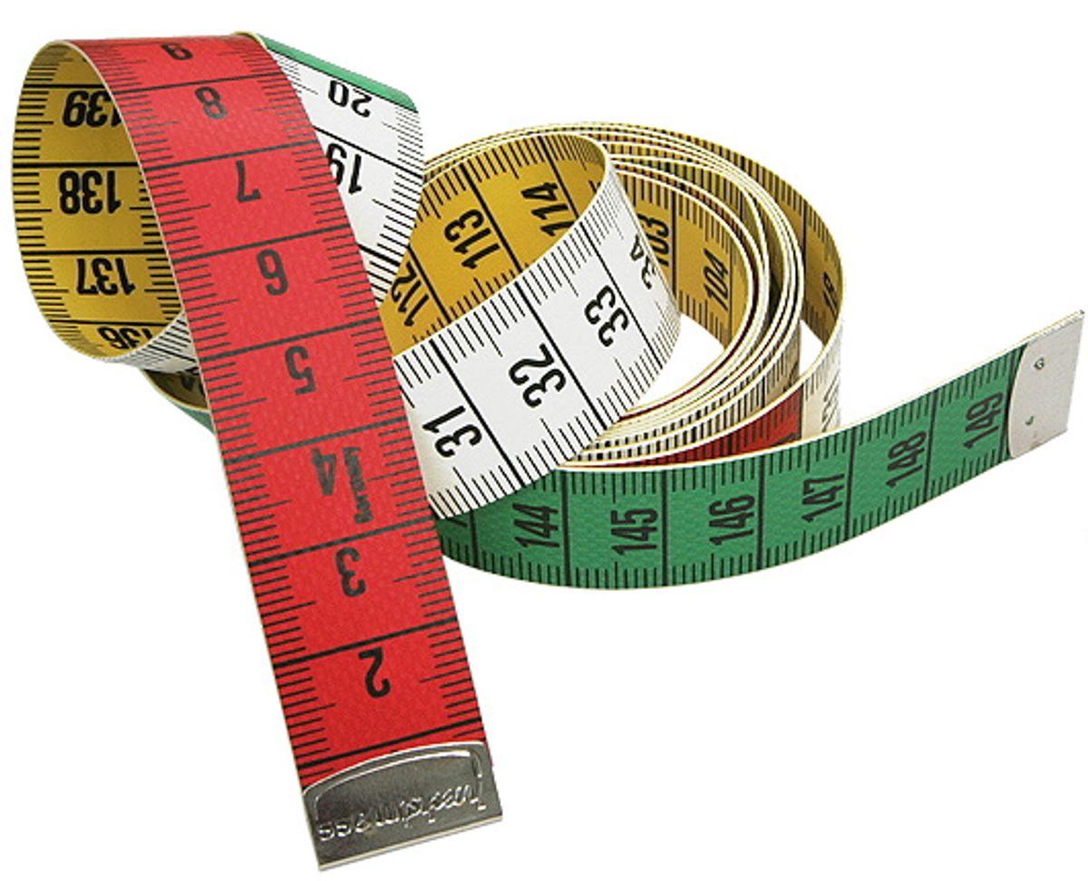Mètre ruban couture multicolore 150 cm