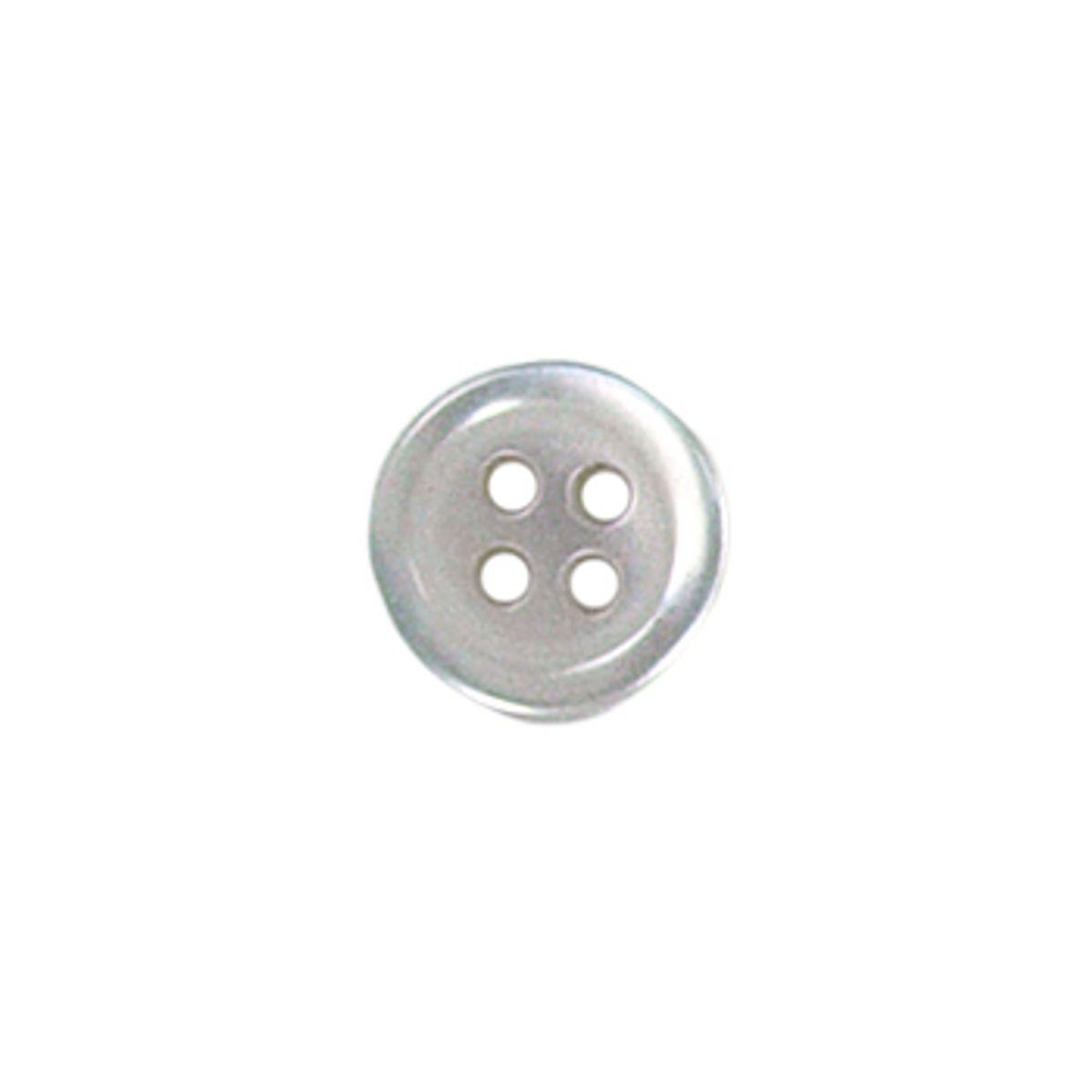 Tube de 6 boutons 4 trous - 10 mm