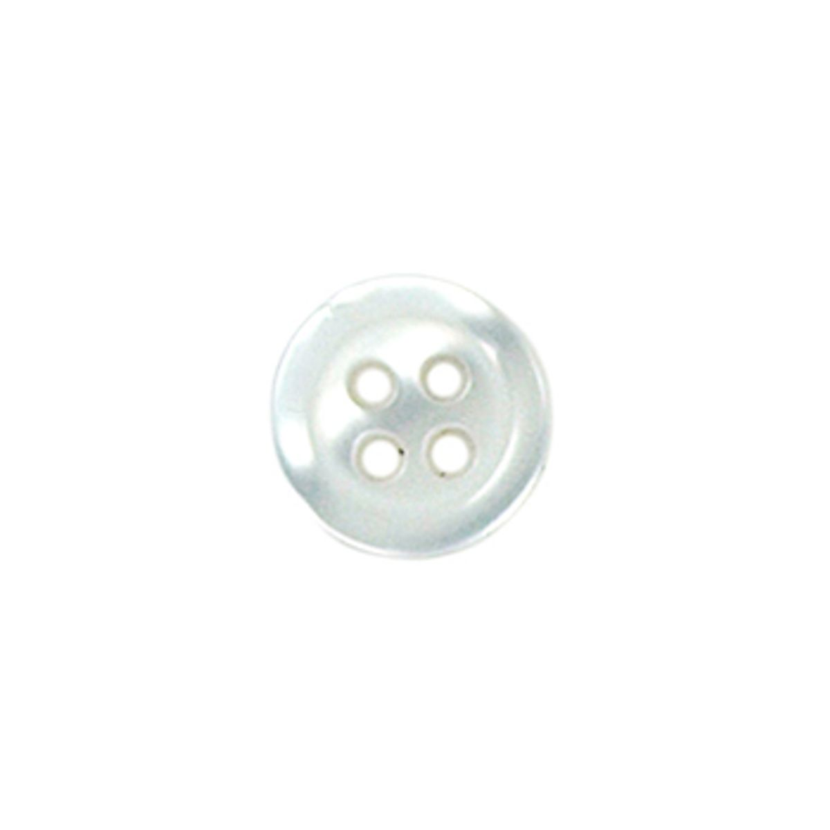 Tube de 6 boutons 4 trous - 10 mm