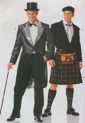 Patron de Gentleman - Burda 2530