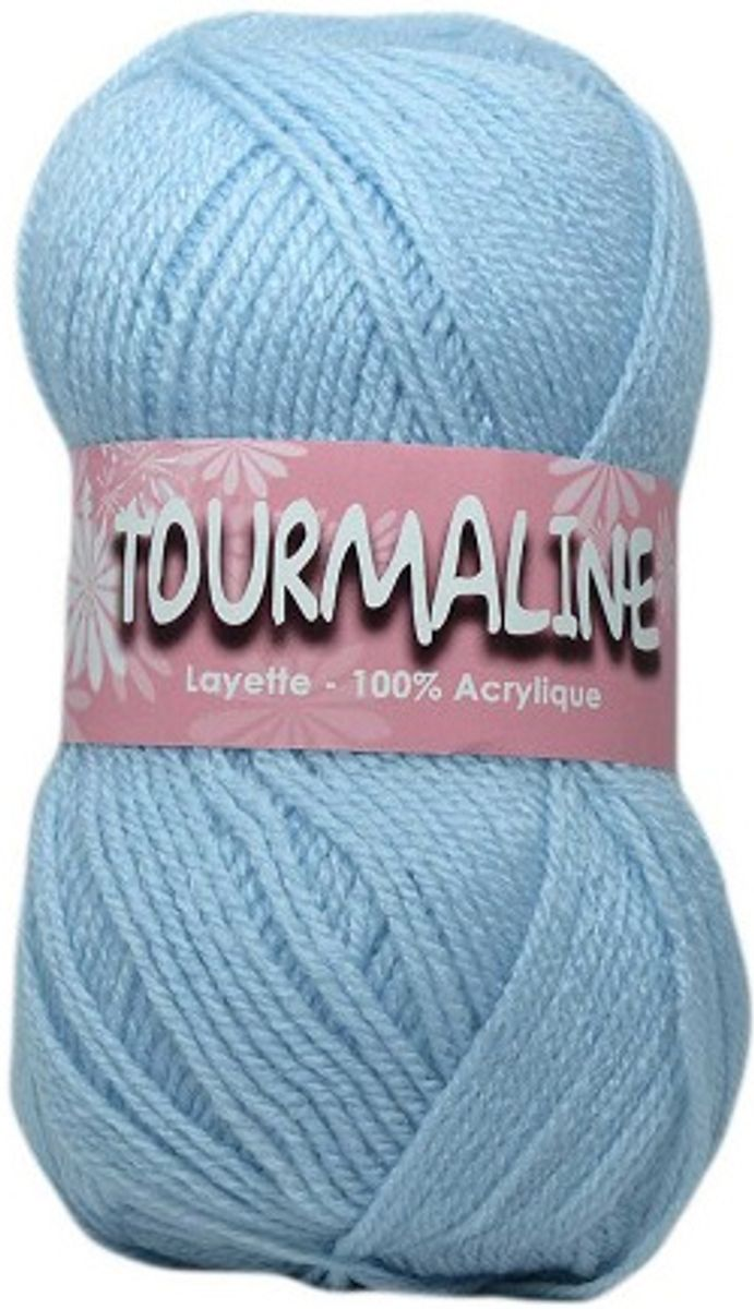 Sachet de 2 pelotes de fils à tricoter Tourmaline