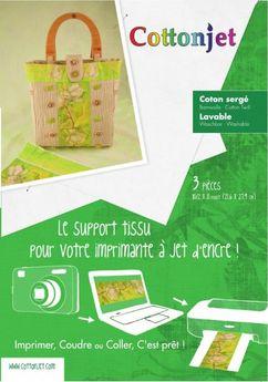 Cottonjet Tissu A Imprimer Rascol