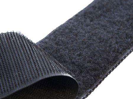 VELCRO® Brand à coudre noir 100 mm de large au mètre