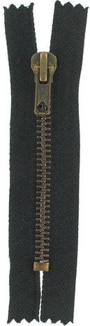 Fermeture éclair Spécial Jeans - Noir 15 cm