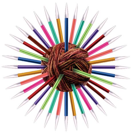 Aiguilles circulaires KnitPro Zing avec câble