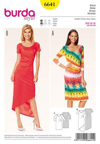 Patron de robe - Burda 6641