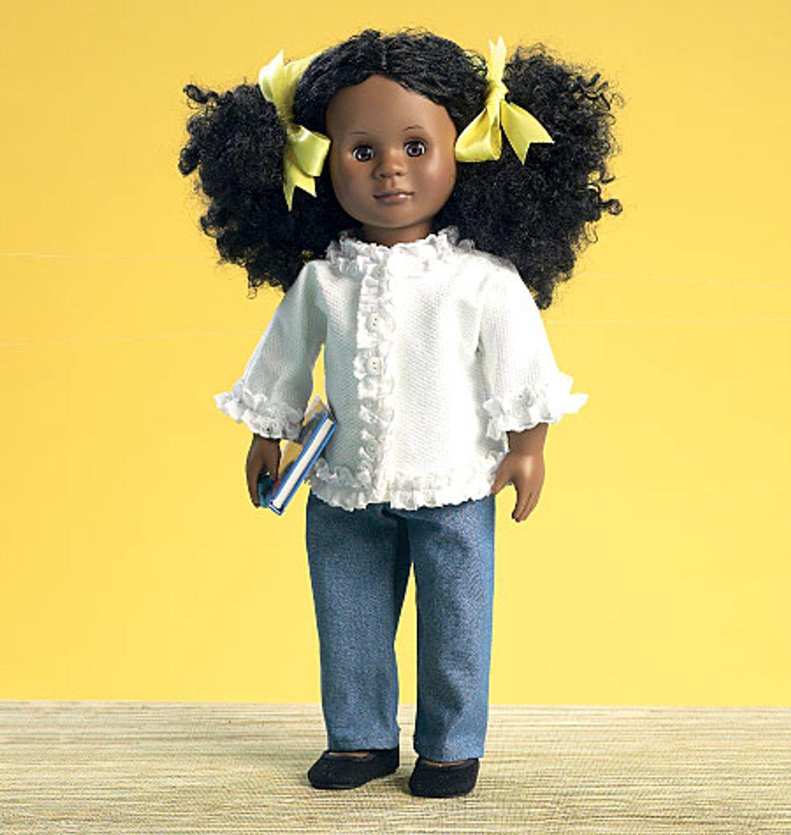 Patron de vêtements rétro pour poupées - McCall's 7266