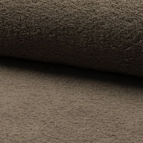 Tissu éponge - Marron