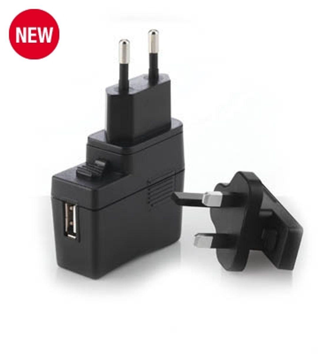 Adaptateur secteur et USB