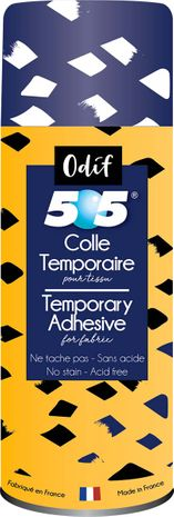 Spray colle temporaire de patchwork Odif 505