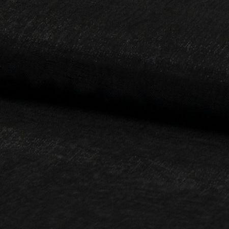 Tissu organza - Noir