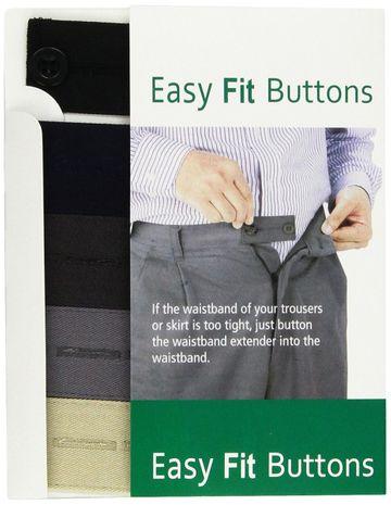 Boutons rallonge Easy Fit pour pantalons et jupes