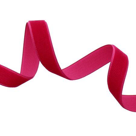 Ruban velours - Fuchsia