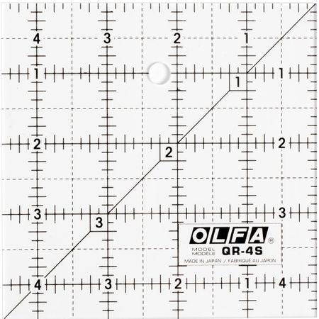 Règle patchwork Olfa 4.5 x 4.5 inch