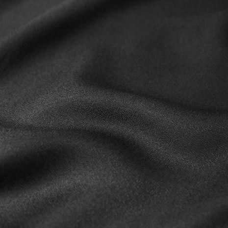 Tissu crêpe de viscose Black - Atelier Brunette