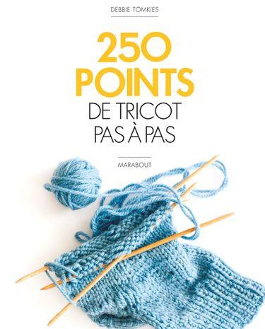 Livre 250 points de tricot pas à pas