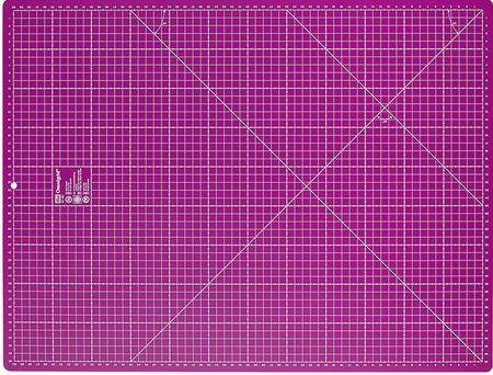 Fond de découpe Omnigrid violet 45 x 60 cm