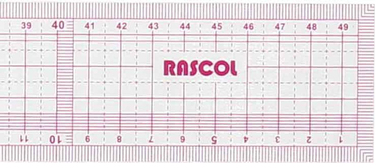 Règle japonaise souple 50 cm Rascol