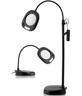 Lampe loupe LED Daylight 2 en 1 (sur pied et sur table)