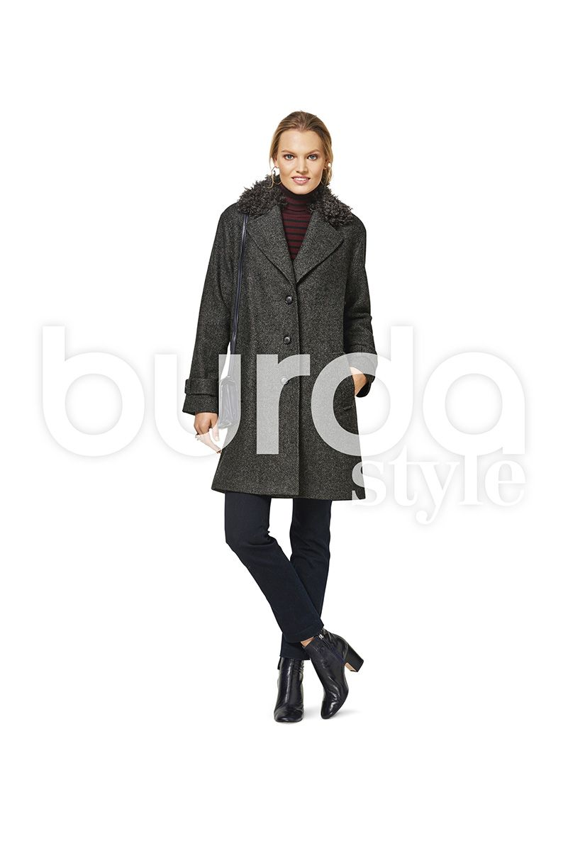 Patron de manteau - Burda 6462