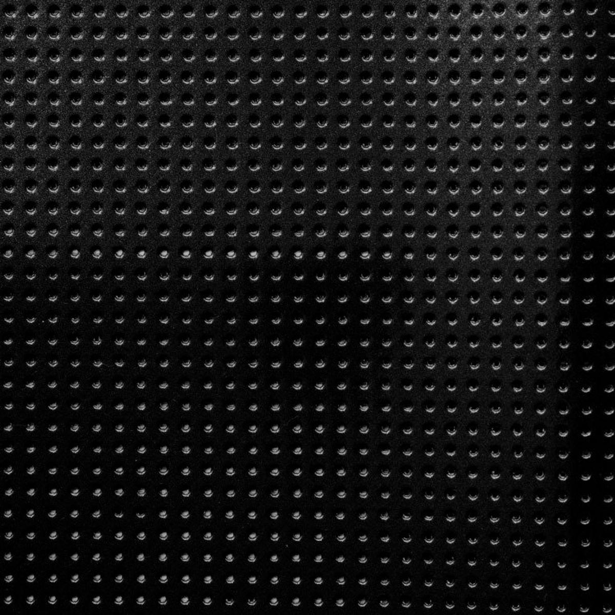 Vinyle laqué perforé - Noir