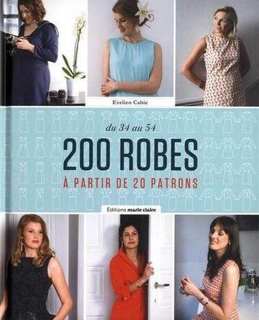 Livre 200 robes à partir de 20 patrons